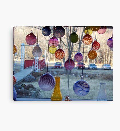 Through The Glass Canvas Print