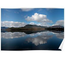Bathurst Harbour - Mount Fulton reflections Poster
