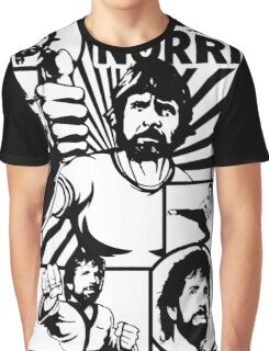 Chuck Norris Graphic T-Shirt
