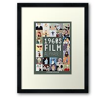 1960s Film Alphabet Framed Print
