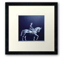 The City Hall Statue Framed Print
