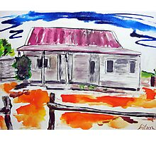 Outback Homestead Bright Photographic Print