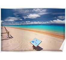 Turquoise Bay, Exmouth, Western Australia Poster