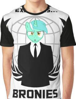 Expect us... Bronies Graphic T-Shirt