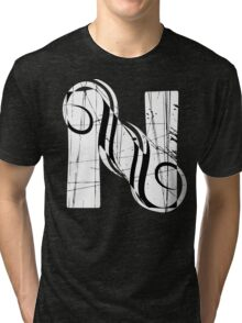 Vintage Letter N Tri-blend T-Shirt