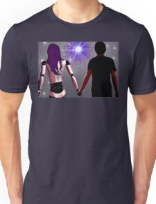 Is anyone there? Unisex T-Shirt