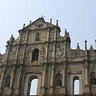 The Ruins of St. Paul's, Macau by 3rdeyelens