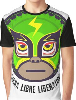 Lucha Libre Liberation (Hernandez) Graphic T-Shirt