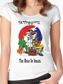 The Dead From Israel Women's Fitted Scoop T-Shirt