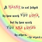A heart is not judged... v2.0 by Jayca