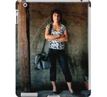 Lady photographer iPad Case/Skin