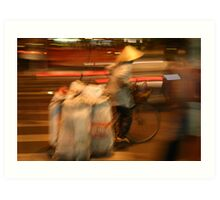 """Speed To Market!"", Ho Chi Minh City, Vietnam Art Print"