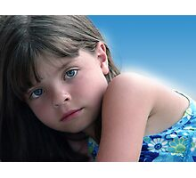 Young Beauty Photographic Print