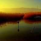 Ohrid lake by Kristina R.