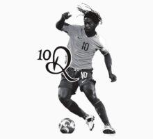Ronaldinho Brazil's No.10 by nickhilldesilva