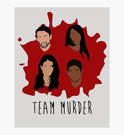 Team Murder Photographic Print