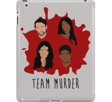 Team Murder iPad Case/Skin