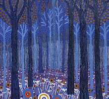 Blue Forest 1 by David Newton