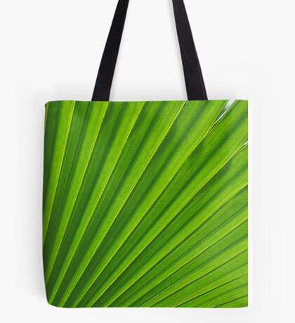 fresh green leaf Tote Bag