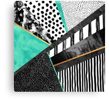 Lines & Layers 3 Canvas Print