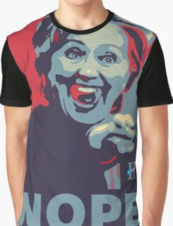 Hillary Clinton - Nope Graphic T-Shirt