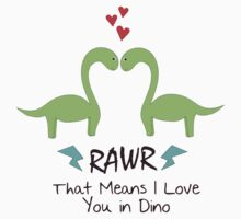 Dinosaurs have Feelings by ehsimp