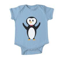Penguin Hugs One Piece - Short Sleeve