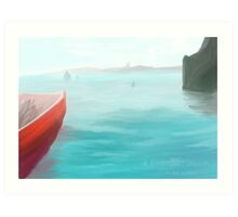 A Fisherman's Delight Art Print