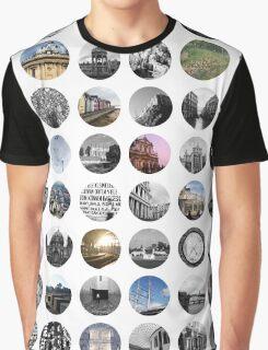 UK & Europe Snapshots Graphic T-Shirt
