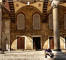 People in Istanbul - Newspaper (3) by Marjolein Katsma