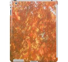 Fiery Orange Fall iPad Case/Skin