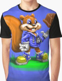 A Squirrel's Comeback Graphic T-Shirt