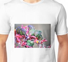 RED YUCCA BLOOMS BUDS AND PODS Unisex T-Shirt