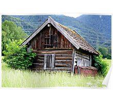 Beautiful Little Barn Poster