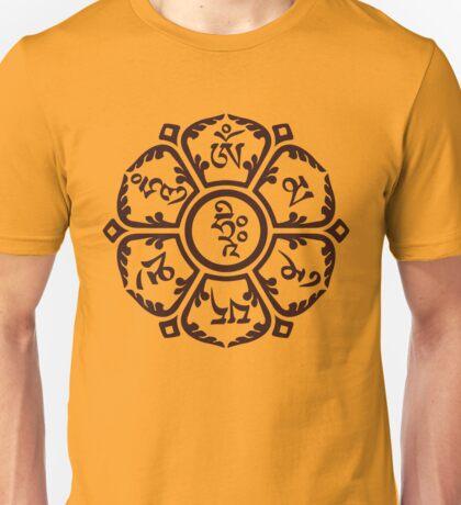 Om flower Unisex T-Shirt