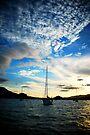 Airlie Beach Sunset by Richard Owen
