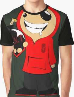 CRAZY JAMES  Graphic T-Shirt