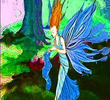 The woodland fairy by Joyce Grubb