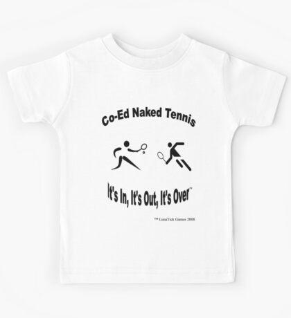 Co-Ed Naked Tennis Kids Tee