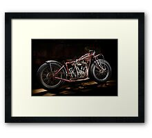 Indian Hillclimber Framed Print