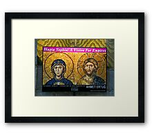 A Vision For Empires Framed Print