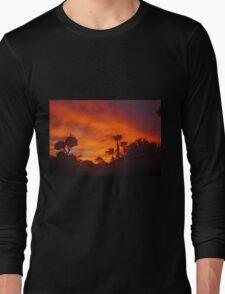 A STORMY SUNSET IN PALM DESERT Long Sleeve T-Shirt