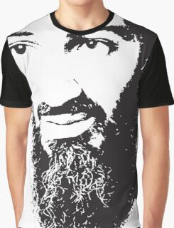 Osama Bin Laden, Silhouette Graphic T-Shirt