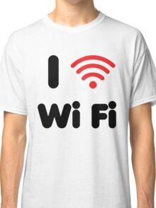 I Heart Wi Fi Classic T-Shirt