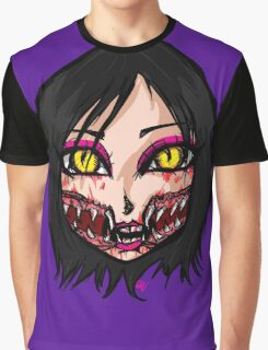 Mortal Kombat x  - Chibi Mileena Face Graphic T-Shirt