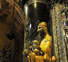 The Black Madonna, Montserrat, Spain by buttonpresser