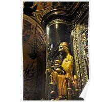 The Black Madonna, Montserrat, Spain Poster