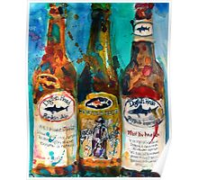Dogfish Head Brewery Beer Art Print- Raison D'Extra - 90 Minute IPA - Punkin Poster