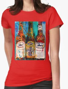 Dogfish Head Brewery Beer Art Print- Raison D'Extra - 90 Minute IPA - Punkin Womens Fitted T-Shirt