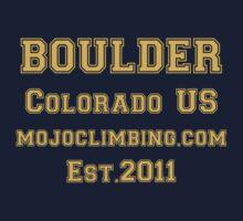Collegiate Boulder Climbing by MojoClimbing